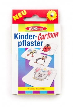 Kinderpflaster, Cartoons