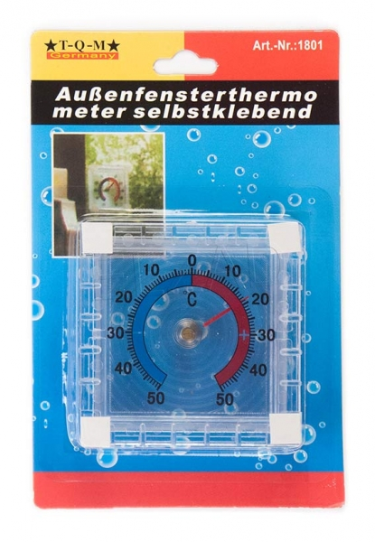 Fenster - Thermometer