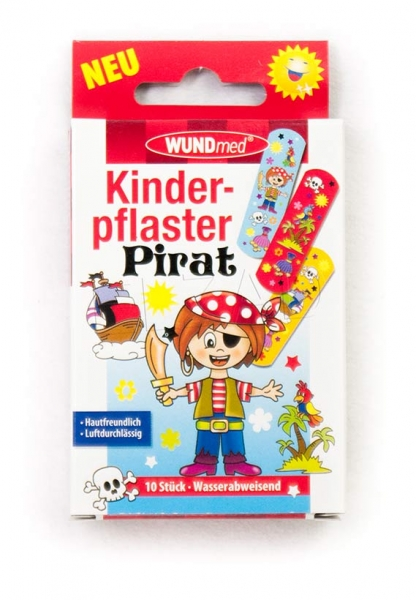 Kinderpflaster, Piraten